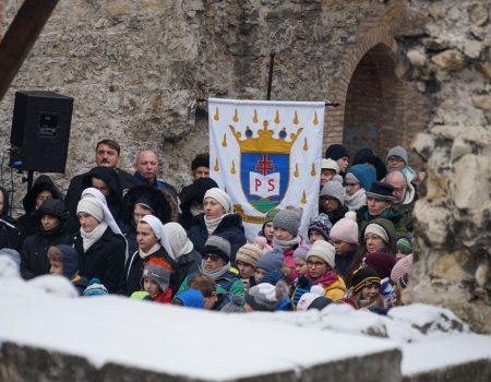 Szentmise Szent Margit tiszteletére a Margit-szigeten