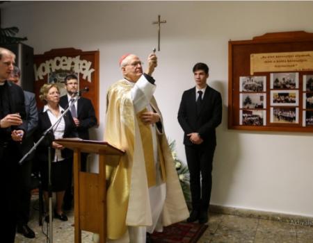 Erdő Péter bíborossal ünnepelt a Weiner Leó katolikus zeneiskola közössége