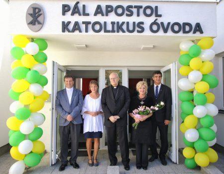 """""""Megvalósult álmunk: kinyitja kapuit a  Pál Apostol Katolikus Óvoda"""""""