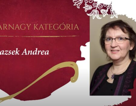 Blazsek Andrea és Tóth Márton karnagyok kitüntetése